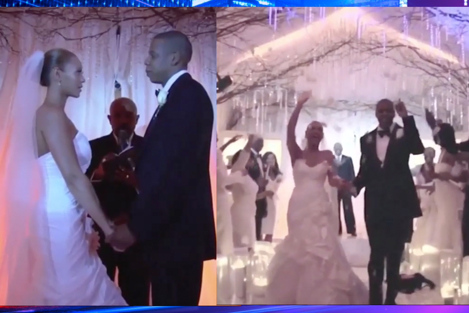 Never-Before-Seen Footage From Jay Z & Beyonce's Wedding ...