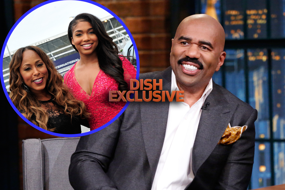 Steve harvey s step daughter hospitalized after horse riding