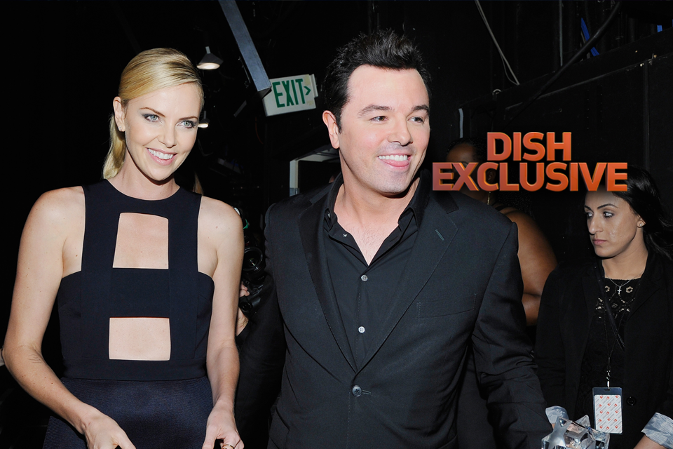 Charlize Theron & Seth MacFarlane Getting Cozy...Again ...