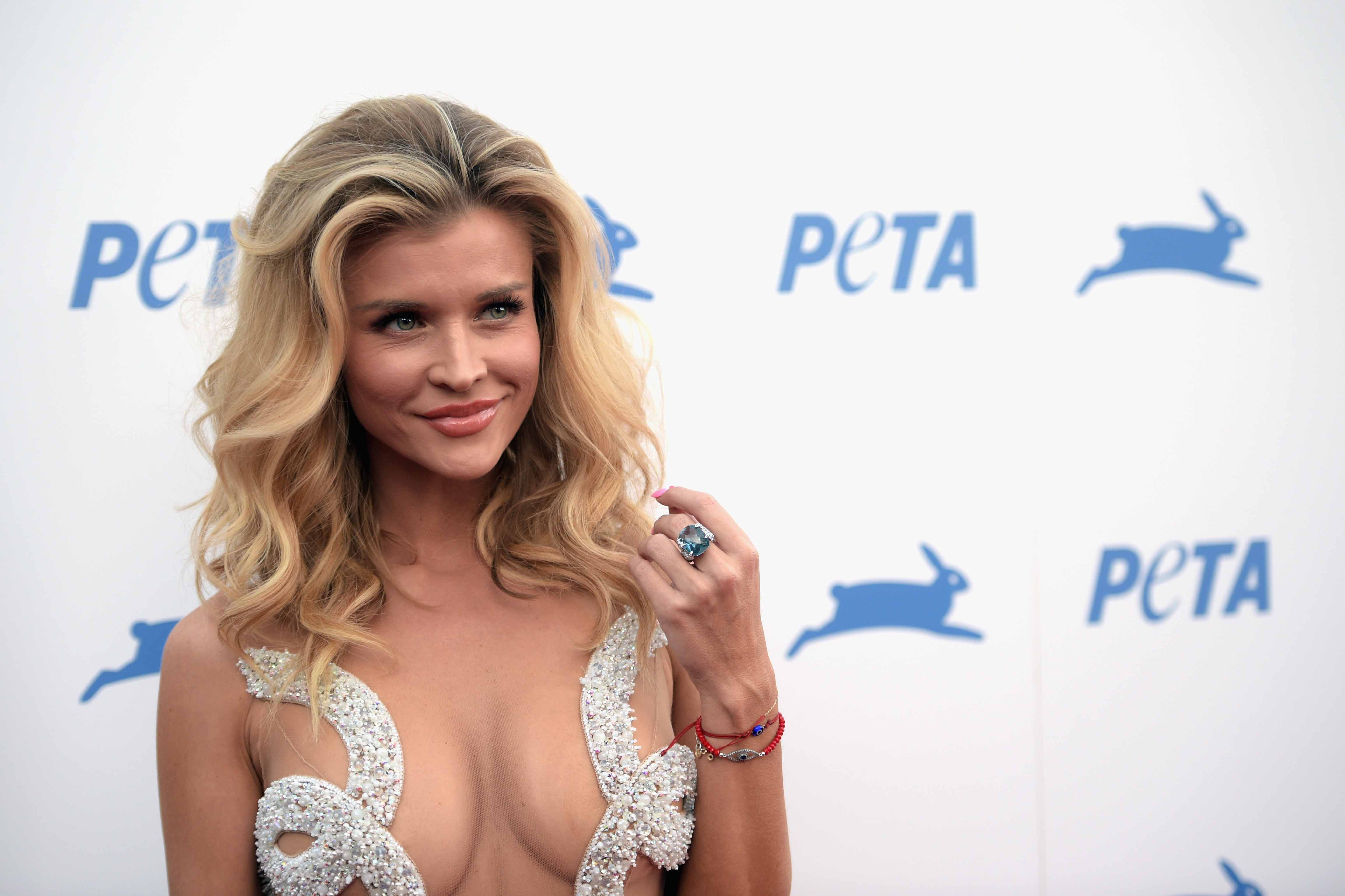 LOS ANGELES, CA - SEPTEMBER 30:  Model Joanna Krupa attends PETA's 35th Anniversary Party at Hollywood Palladium on September 30, 2015 in Los Angeles, California.  (Photo by Jason Kempin/Getty Images for PETA)