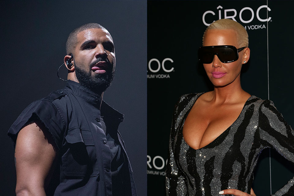 2a7dae8206 Are Drake   Amber Rose Hooking Up  - Dish Nation