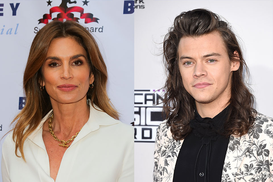 cindy crawford harry styles bffs dish nation entertaining