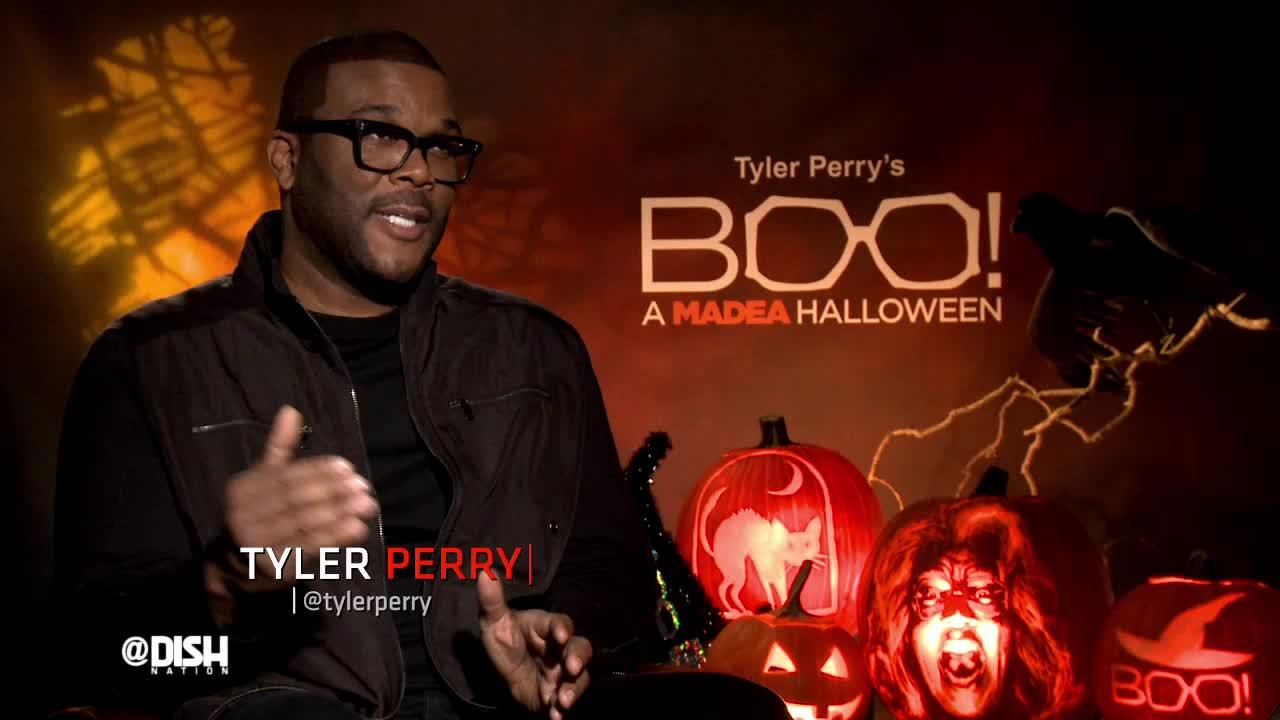 DISHING WITH TYLER PERRY ABOUT 'BOO! A MADEA HALLOWEEN' - Dish ...