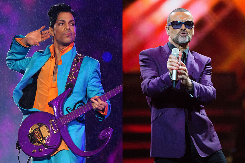 PRINCE & GEORGE MICHAEL TO BE HONORED AT GRAMMYS