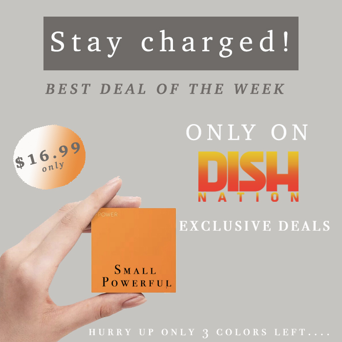 TODAY'S DEAL: SLIM 3000 MAH POWERBANK - Dish Nation | Entertaining ...