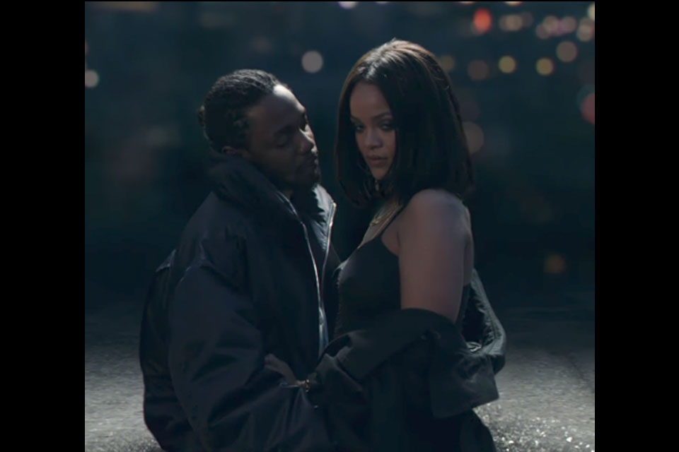 Rihanna Couples Up With Kendrick Lamar In Loyalty Video