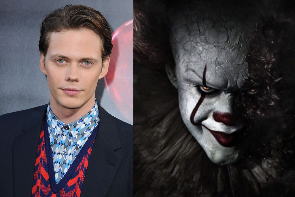 'IT'S PENNYWISE CLOWN BILL SKARSGARD IS SCARY HOT - Dish ...