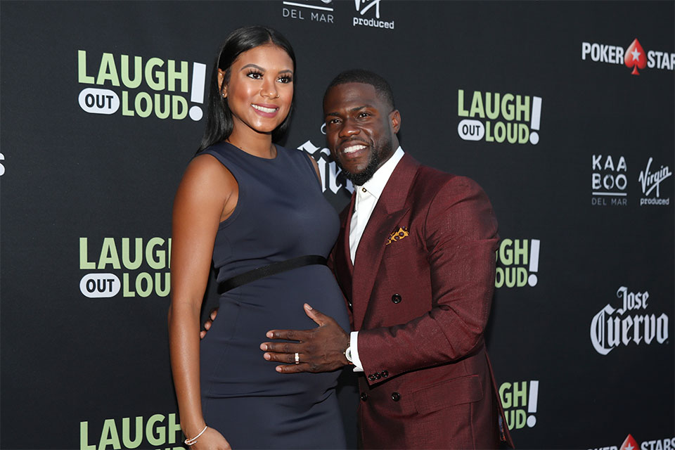 KEVIN HART'S PREGNANT WIFE IS STANDING BY HER MAN DESPITE ...