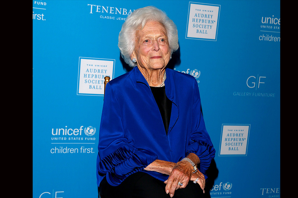 Barbara Bush has died